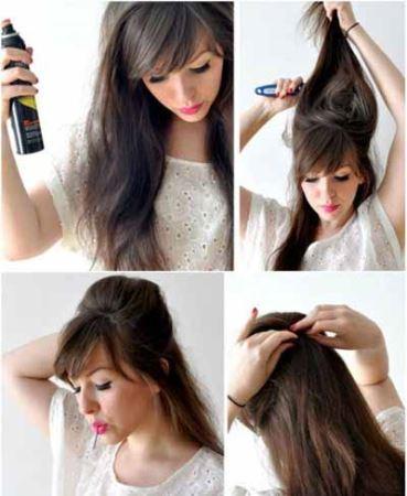 آرایش تصویری مو به سبک پرنسس های دیزنی