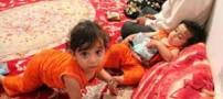 گرسنه ماندن 3 روزه دوقلوهای ایرانی (عکس)