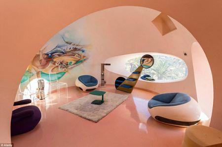 عکس هایی زیبا از هتل قصر حبابی در فرانسه
