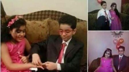 جنجال امنیتی ازدواج دختر 5 ساله با پسر 8 ساله ! (عکس)