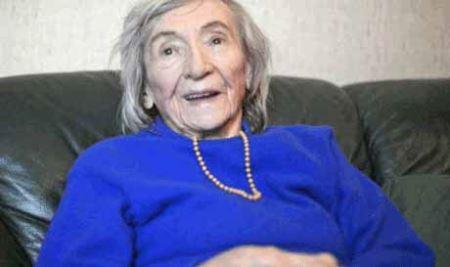 زنی که پیش مرگ هیتلر بود هنوز زنده است (عکس)