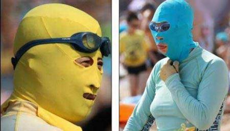 اقدام دیدنی زنان چین برای مقابله با خورشید ! (عکس)