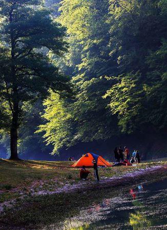 سفری رویایی به دریاچه میانشه در مازندارن (عکس)