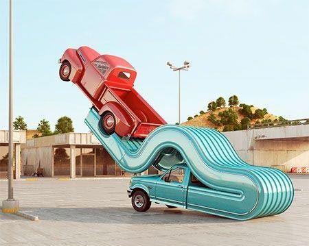 خودروهای عجیب و دور از تصویر (عکس)