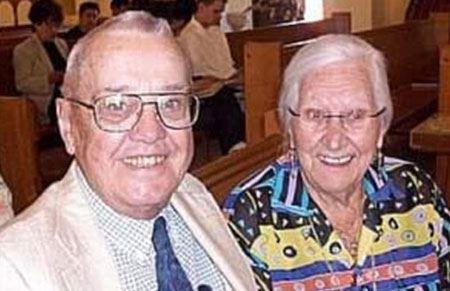 مرگ باورنکردنی و همزمان زوج عاشق سالخورده !  (عکس)