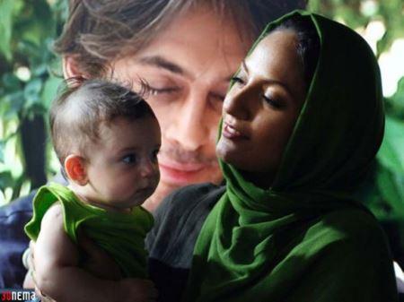اولین عکس های منتشر شده مهناز افشار و دخترش