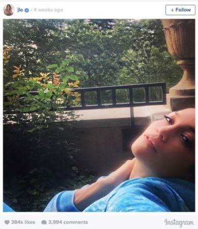 انتشار پربازدیدترین عکس های جنیفرلوپز در اینستاگرام