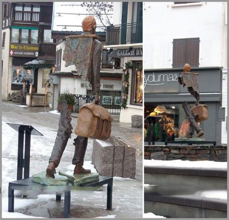 مجسمه های خارق العاده نیمه مرئی!!
