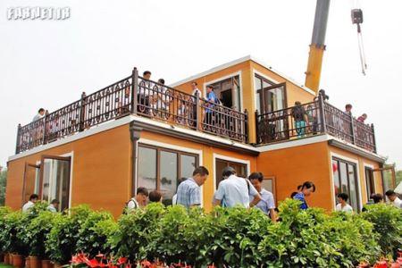 خانه مقاوم و جالبی که در 3 ساعت ساخته شد (عکس)