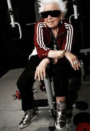 انتخاب پیرترین زن خوش اندام دی جی در دنیا (عکس)