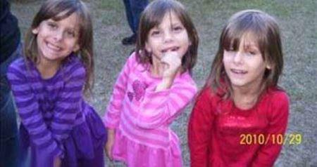 تصادف عجیب خانم راننده با دخترهای سه قلو (عکس)