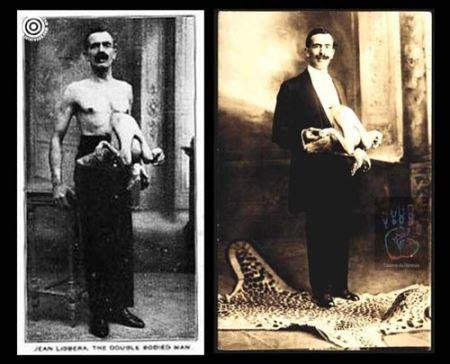 عجیب ترین انسان های تاریخ (عکس)