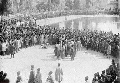 قوی ترین مرد ایران در زمان قاجاریه (عکس)