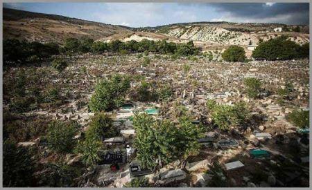 قبرستانی بسیار عجیب و غریب در مازندران (عکس)