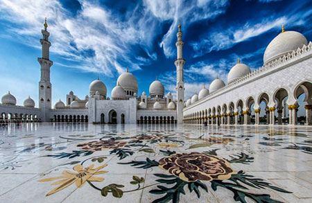 خوش نقش و نگارترین مسجدهای جهان (عکس)