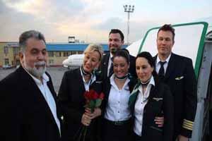 مهماندار های جذاب و بی حجاب هامبورگ در مشهد