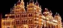کاخ زیبا و دیدنی میسور در هندوستان (عکس)