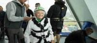 رکورد شکنی نفس گیر پیرزن 101 ساله! (عکس)