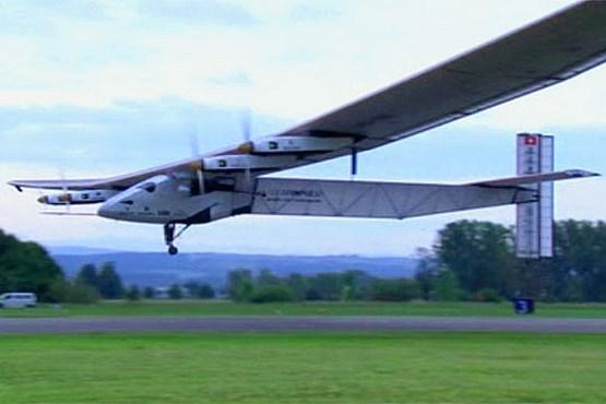 عبور از عرض اقیانوس آرام با هواپیمای خورشیدی