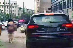 زن آبرومندی که بخاطر شوهرش برهنه در خیابان چرخید (عکس)