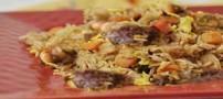 طرز تهیه نخود پلو با سبزیجات
