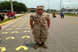 اقدام باورنکردنی این پسر برای پیوستن به ارتش (عکس)