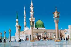 نمایش تار موی منتسب به پیامبر اسلام در یک مسجد ! (عکس)
