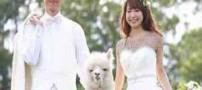 عجیب ترین ساقدوش این عروس خانم (عکس)