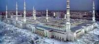 جنجال قمار و ورق بازی در مسجد النبی (عکس)