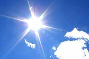 موقعیت خورشید در تابستان نسبت به زمین