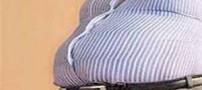خطرات چاقی دور شکم