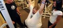 اندام دیدنی این پسر پس از کاهش 180 کیلو وزن!