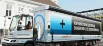 اولین کامیون 40 تنی تمام الکتریکی دنیا (عکس)