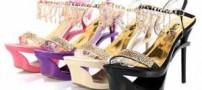 شیک ترین مدل کفش های مجلسی زنانه