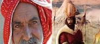 زنی نزد نادرشاه رفت و روسری خود را بر سر او انداخت