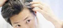 چرا موها سفید می شوند