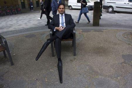 ابتکار بسیار جالب این مرد برای درک بیشتر محیط (عکس)