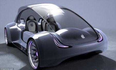 خودروهای بدون سرنشین نسل آینده شرکت اپل