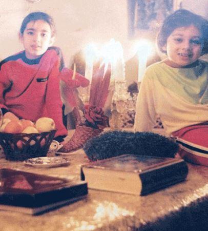 چهره دیدنی یکتا ناصر در کودکی (عکس)