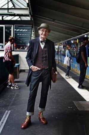 انتخاب خوش تیپ ترین پیرمرد دنیا