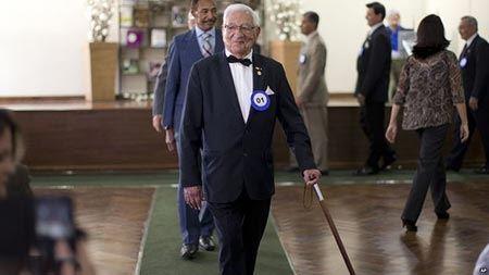 انتخاب خوش تیپ ترین پیرمردهای جهان (عکس)