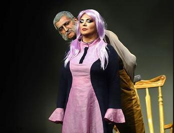 پوشش جنجالی بازیگران زن در نمایشی از شهره لرستانی (عکس)