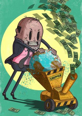 حقایق تلخ از جهان امروز به روایت کاریکاتور