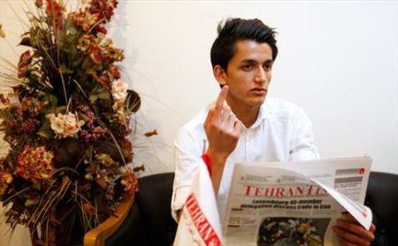 پسر ایرانی جذاب بیل گیتس دوم در جهان (عکس)