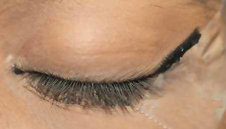 آموزش آرایش چشم مدل پاکستانی