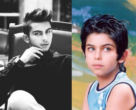 عکس های کودکی و بزرگسالی بازیگران سینما