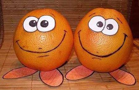 عکس های عجیب و بسیار جالب از میوه ها !