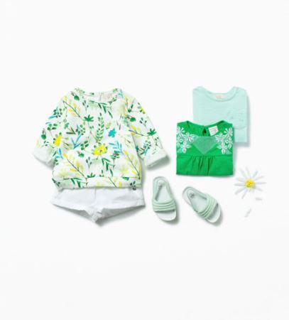 ست زیبای لباس های نوزادی دخترانه برند زارا