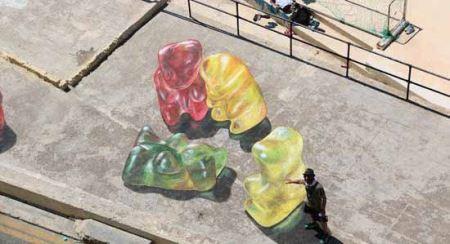 نقاشی های دیدنی سه بعدی پاستیلی !!