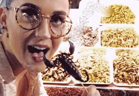 خوراک عجیب مشهورترین خواننده زن جهان (عکس)